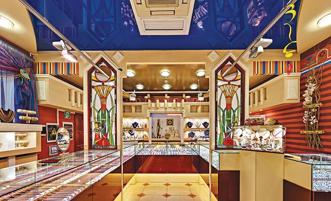 Лучшее оформление торгового зала. Магазин площадью торгового зала до 200 м2.  Ювелирный магазин « 2274b452898