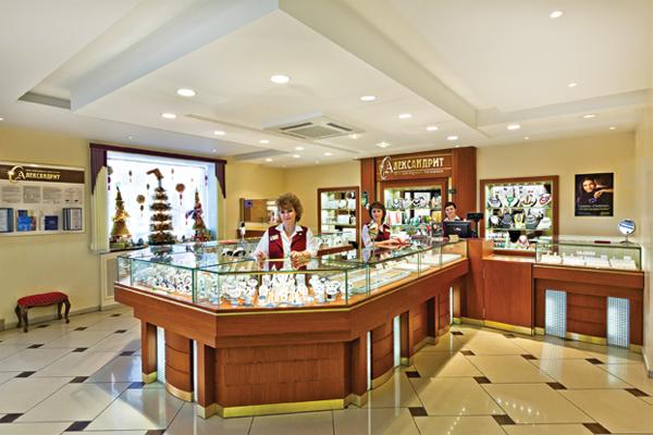 Лучшее оформление торгового зала. Магазин площадью торгового зала от 50 до  100 м2. Ювелирный a767485f105