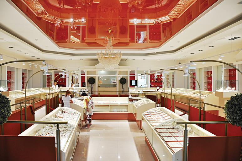 За высокий уровень культуры и организации продаж. Ювелирный магазин  «Золотой Алеф», Таганрог cc035c919ec